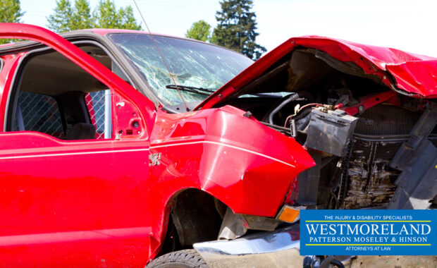 pick-up trucks head-on collision