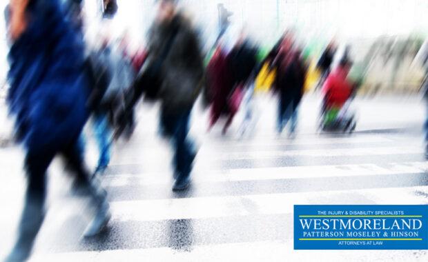 Pedestrian accident liability in GA