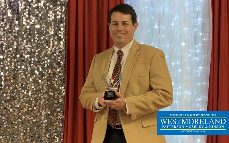 Potter wins president's award