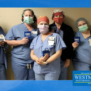 Westmoreland Law Donates 160 Meals to Healthcare Workers